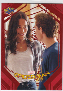 Spider-Man Homecoming card #72 Red Foil #d 101/199