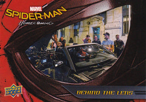 Spider-Man Homecoming Behind The Lens Insert card BTL6