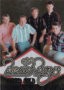 2013 Panini The Beach Boys Gold Foil card