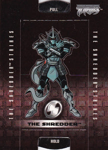 Teenage Mutant Ninja Turtles 2 The Shredder Strikes Stand-Ups card The Shredder