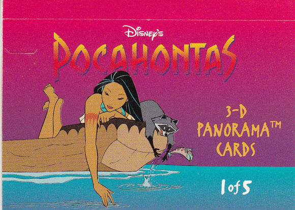 1994 Skybox Disney's Pocahontas 3-D Panorama card #1 of 5