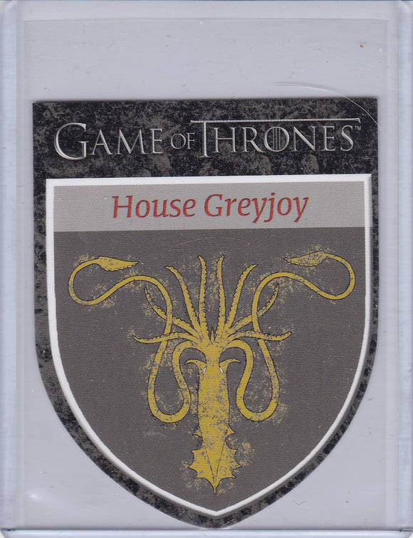 Game Of Thrones Season 1 The Houses Insert Card # H9 House Greyjoy