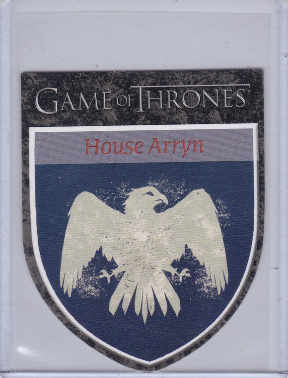 Game Of Thrones Season 1 The Houses Insert Card # H6 House Arryn
