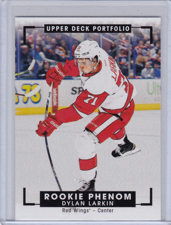 Dylan Larkin 2015-16 Portfolio Color Art Rookie Phenom card #328