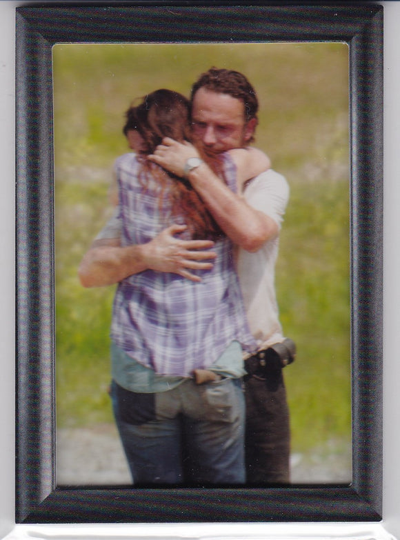 Walking Dead Season 3 Part 1 Grimes Family Shadowbox card GF-05 Holding On