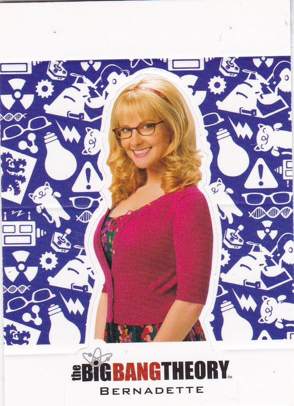 The Big Bang Theory Season 5 Character Standee Insert card CS-07 Bernadette