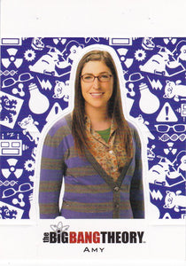 The Big Bang Theory Season 5 Character Standee Insert card CS-06 Amy