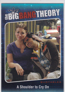 The Big Bang Theory Season 5 Quotables Insert card QTB-04