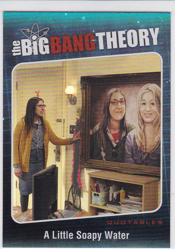 The Big Bang Theory Season 5 Quotables Insert card QTB-02