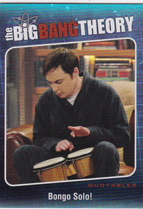 The Big Bang Theory Season 5 Quotables Insert card QTB-01