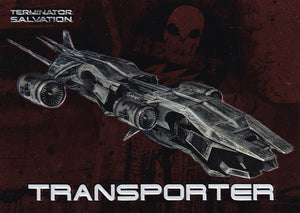 Terminator Salvation Embossed Foil Insert card 4 of 9 Transporter