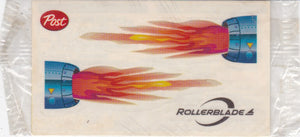 1980's - 1990s Post Cereal Rollerblade Sticker