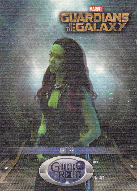 2014 Upper Deck Guardians Of The Galaxy - Galaxy Residents card GR-9 Gamora