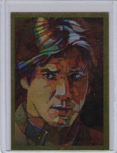 2012 Star Wars Galaxy 7 Foil card # 12 Han Solo Gold Foil Parallel