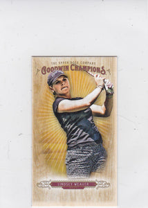 Lindsey Weaver 2018 Goodwin Champions Lumberjack back Mini card #21