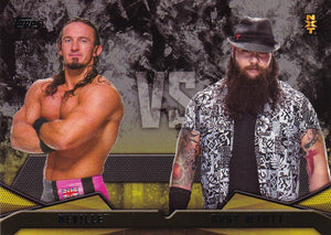 2016 Topps WWE Then Now Forever NXT Rivalries card #18 Neville Vs Bray Wyatt