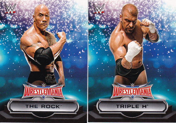2016 Topps WWE Road To Wrestlemania WrestleMania 32 Roster cards choose your numbers