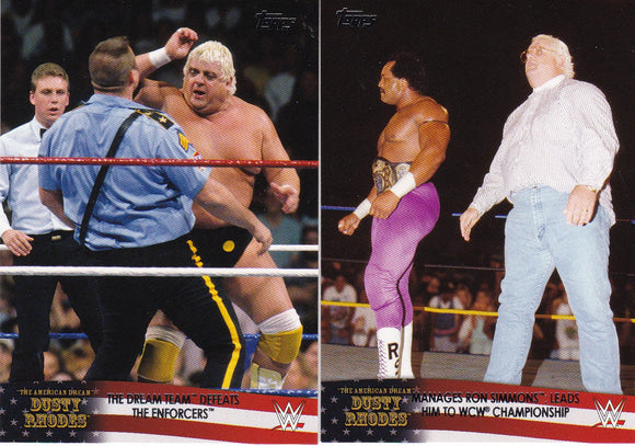 2016 Topps WWE Road To Wrestlemania Dusty Rhodes Tribute cards Choose your numbers