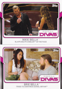 2017 Topps WWE Total Divas cards Choose your numbers