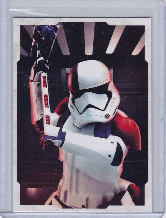 Star Wars The Last Jedi Character Portraits Insert card CP-11 Stormtrooper Executioner