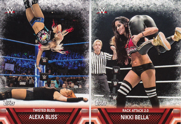 2017 Topps WWE Women's Division Finishers and Signature Moves Choose Your numbers