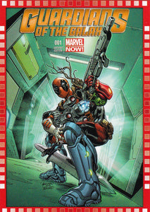 2014 Marvel Now Cutting Edge Covers Variant card 123-DF Guardians of the Galaxy #1