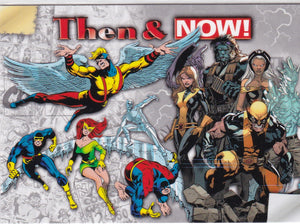 2014 Marvel Now Then & Now Insert card TN-SB X-Men