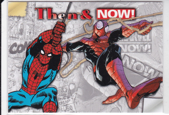 2014 Marvel Now Then & Now Insert card TN-LS Spiderman