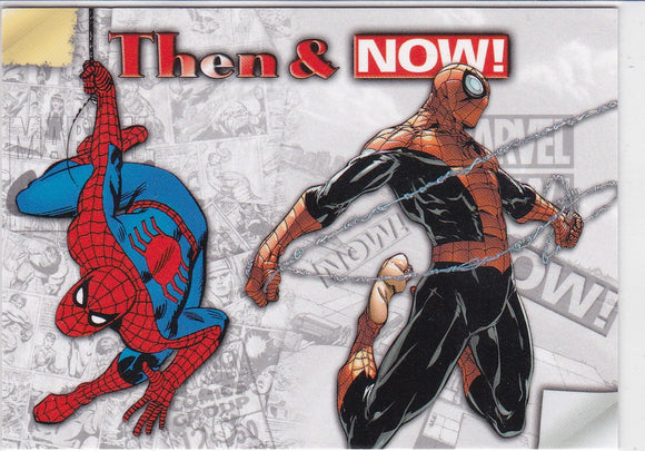 2014 Marvel Now Then & Now Insert card TN-SD Spiderman
