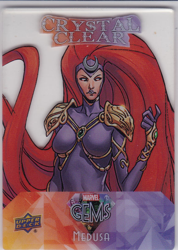 2016 Marvel Gems Crystal Clear card CC-2 Medusa