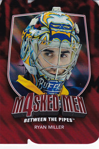 Ryan Miller 2011-12 Between The Pipes Masked Men 4 card MM-31 Ruby