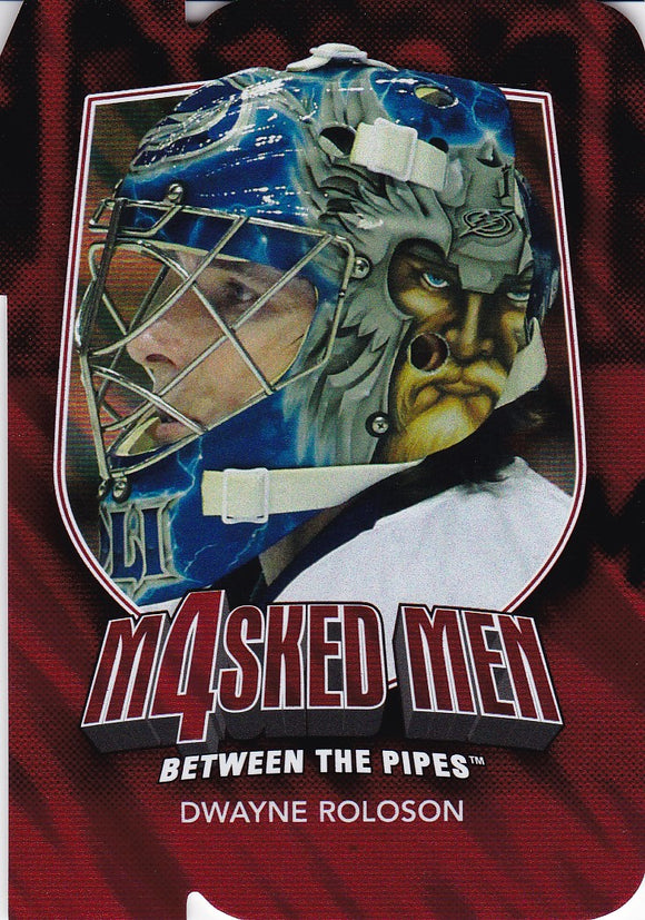 Dwayne Roloson 2011-12 Between The Pipes Masked Men 4 card MM-39 Ruby