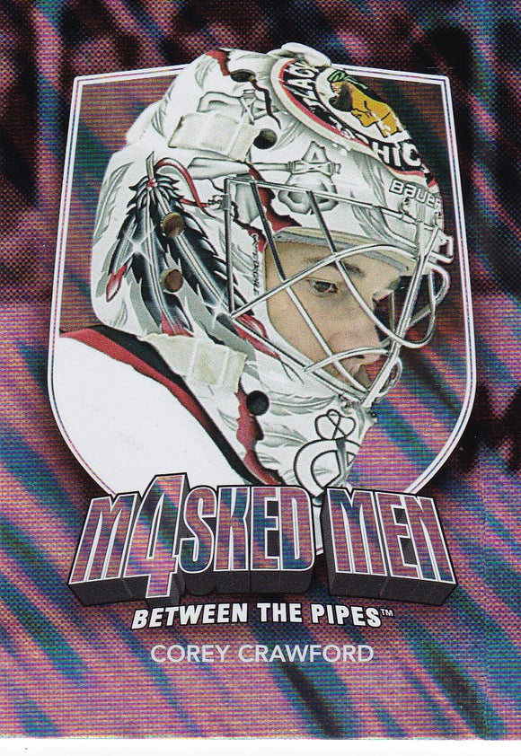 Corey Crawford 2011-12 Between The Pipes Masked Men 4 card MM-13 Silver