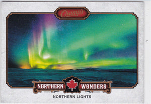 2015-16 Champ's Northern Wonder card NW-13 Northern Lights