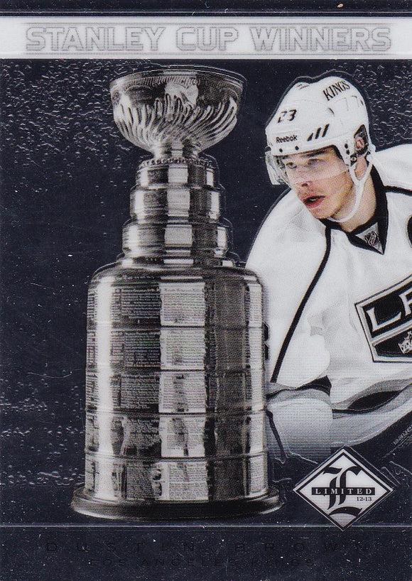 Dustin Brown 2012-13 Limited Stanley Cup Winners card SC-36 #d 113/199
