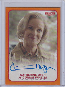 Stranger Things Season 1 Catherine Dyer as Connie Frazier Autograph A-CF Orange #d 45/99