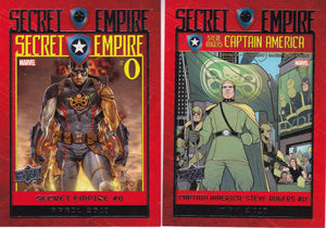 2017 Marvel Annual Secret Empire Comic Covers Choose your numbers from the list