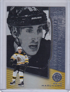Brad Marchand 2017-18 Tim Hortons Platinum Profiles card PP-4