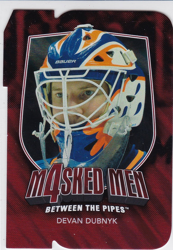 Devan Dubnyk 2011-12 Between The Pipes Masked Men 4 card MM-15 Ruby