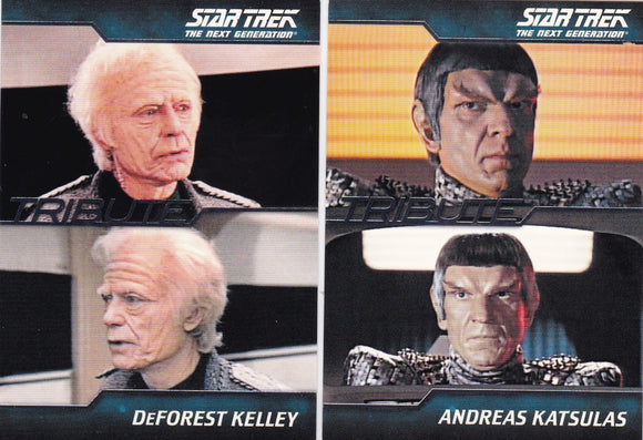 The Complete Star Trek Next Generation TNG Series 1 Tribute Cards Choose your numbers