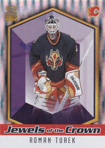 Roman Turek 2001-02 Crown Royale Jewels Of The Crown card #4