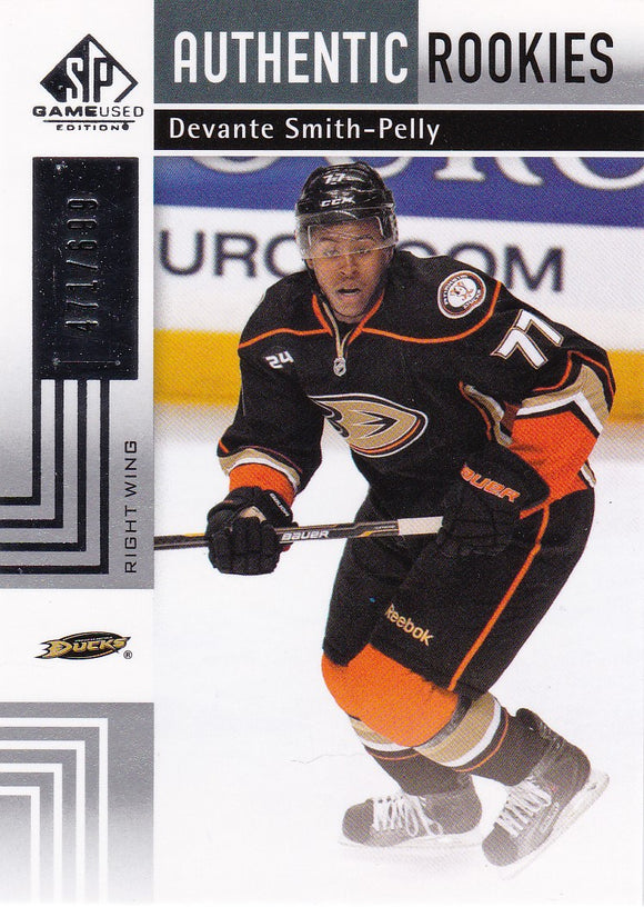 Devante Smith-Pelly 2011-12 SP Game Used Rookie card 144 #d 471/699