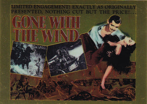 Gone With The Wind Chromium Insert card C3 Think Big!