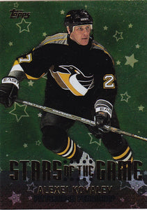 Alexei Kovalev 2001-02 Topps Stars of the Game card SG8