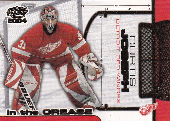 Curtis Joseph 2003-04 Pacific In The Crease card #5