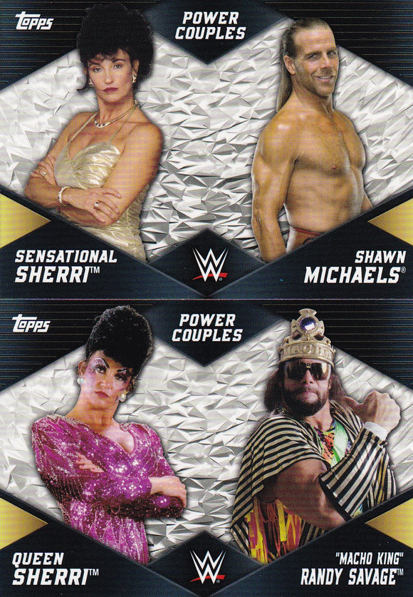 2018 Topps WWE Women's Division Power Couples Choose your numbers from the list