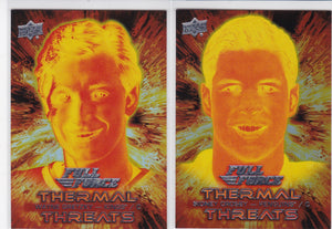 2015-16 Full Force Thermal Threats Insert cards Choose your numbers from the list