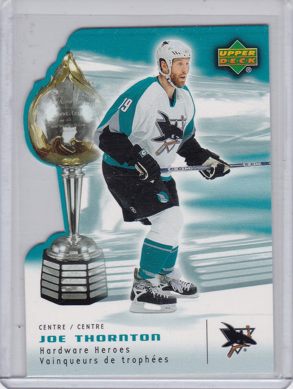 Joe Thornton 2006-07 Mcdonald's Hardware Heroes card HH1