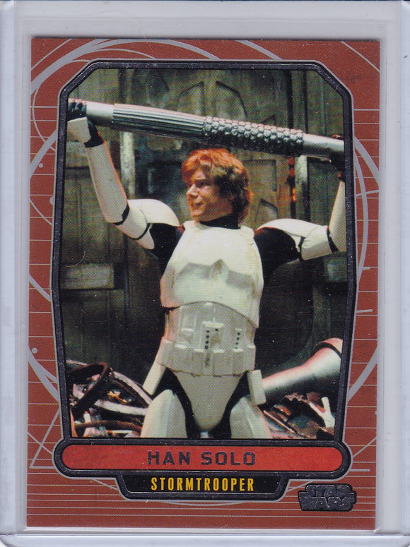 2013 Topps Star Wars Galactic Files Series 2 card #463 Han Solo Photo Variant