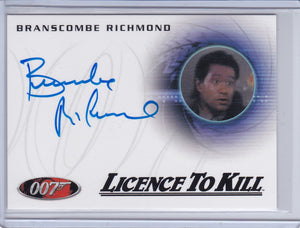 2014 James Bond Archives Branscombe Richard Bar Patron Autograph A236